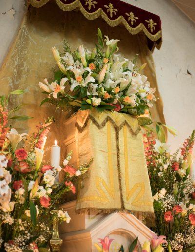 Décoration église semaine sainte 2018