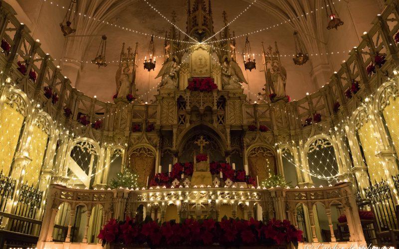 Décoration chapelle sainte Eugénie, Noël 2018, Nîmes