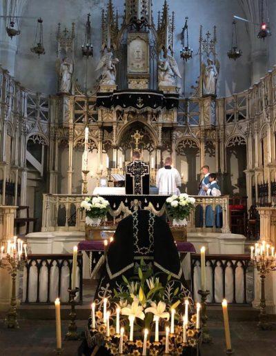 Messe Requiem, Nîmes, sainte Eugénie